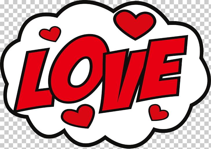 Sticker Love hike Messenger Decal, Big red love sticker.