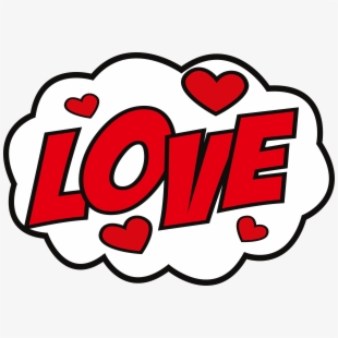 Sticker Love Hike Messenger Decal.