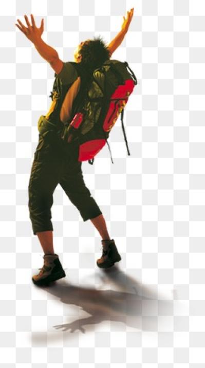 Hiker PNG Images.