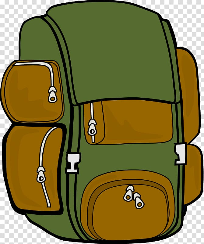 Backpack Hiking Camping , outside transparent background PNG clipart.