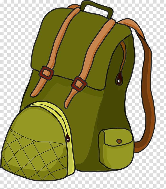Backpack Hiking Camping , Hiker transparent background PNG.