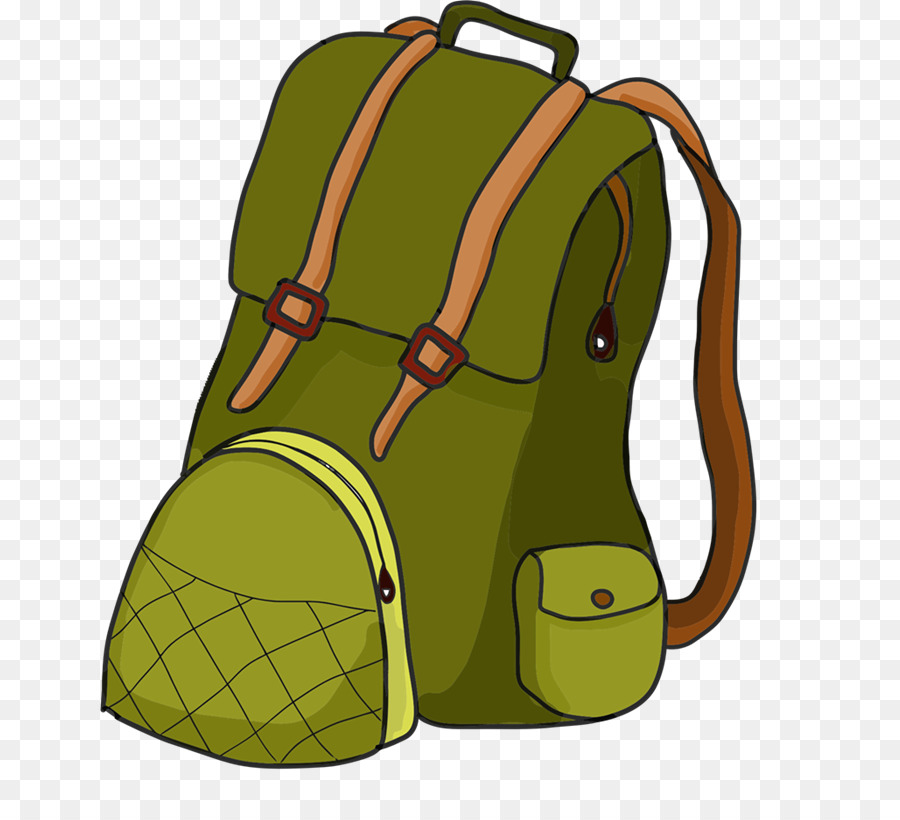 Hiking backpack clipart 1 » Clipart Station.