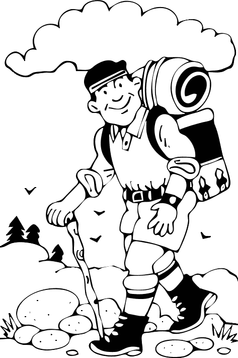 Free Hiking Cliparts, Download Free Clip Art, Free Clip Art.