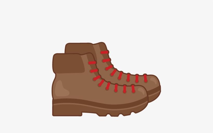 Hiking Boots Svg Scrapbook Cut File Cute Clipart Files.