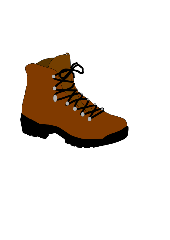 Free Clipart: Hiking Boot.
