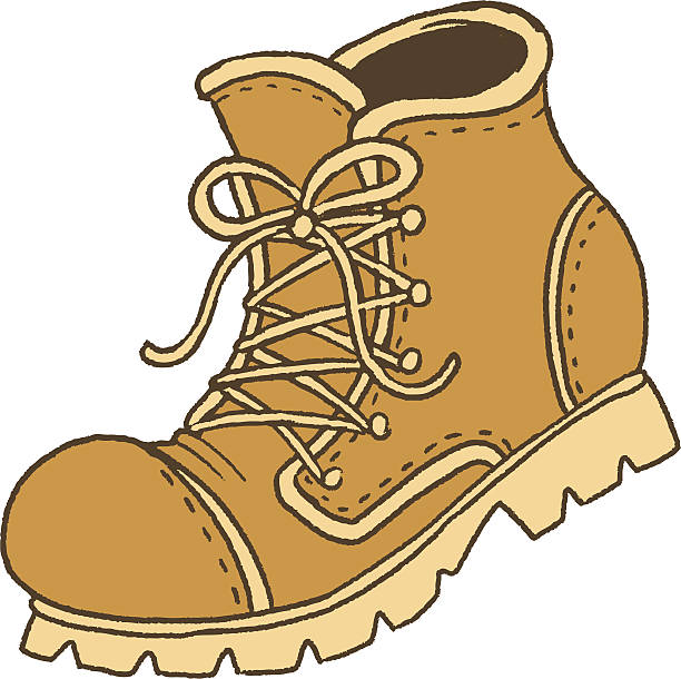 Best Hiking Boot Illustrations, Royalty.