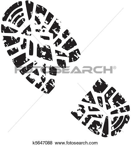 Hiking boot Clipart EPS Images. 1,094 hiking boot clip art vector.