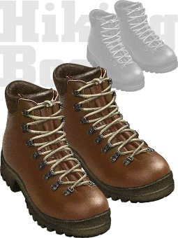 Hiking boots clipart / Free clip art.
