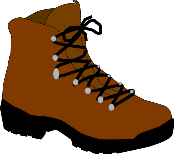Hiking Boot Clip Art at Clker.com.