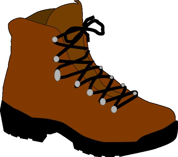 Hiking Boot Clip Art at Clker.com.