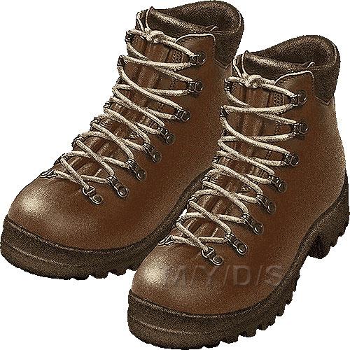 Clip Art Hiking Boots Clipart.