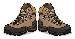 Hiking Shoes Clipart.