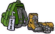 Free Camping and Hiking Clipart.