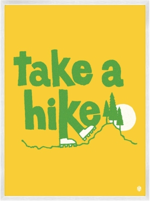 Take A Hike Clipart.