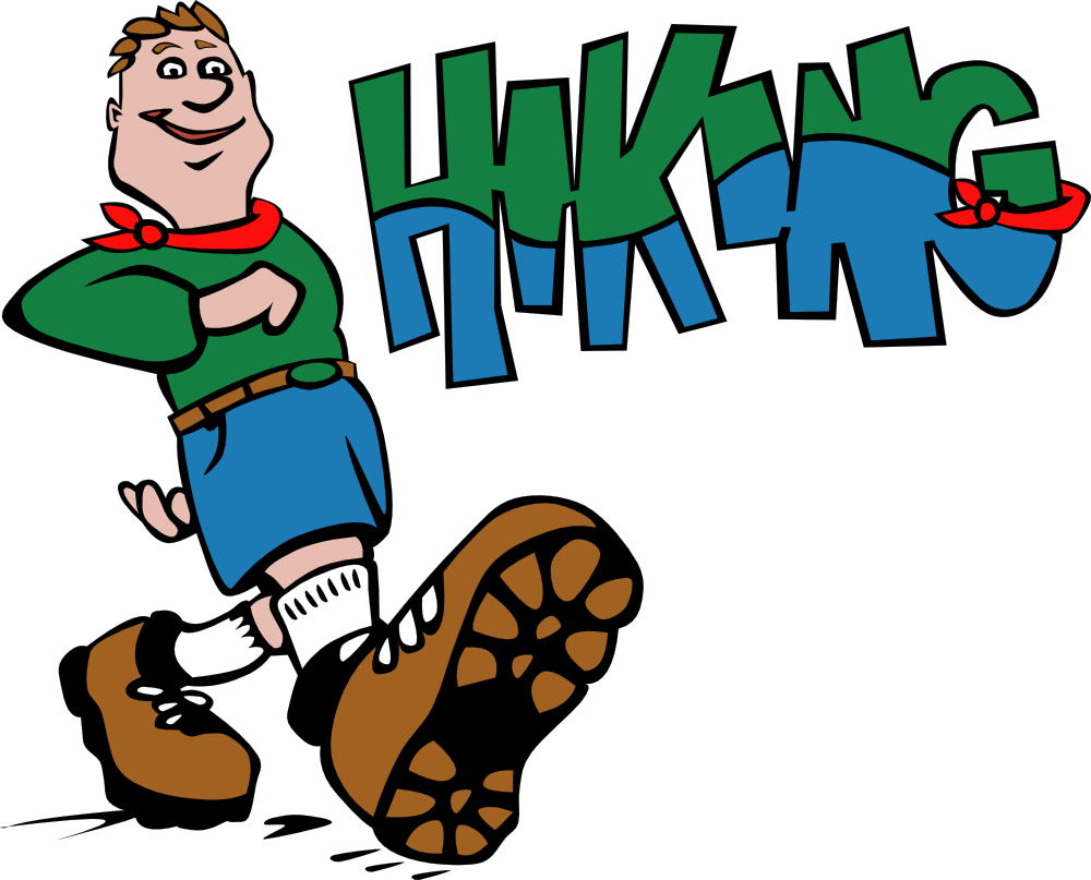 Hiking Clipart.