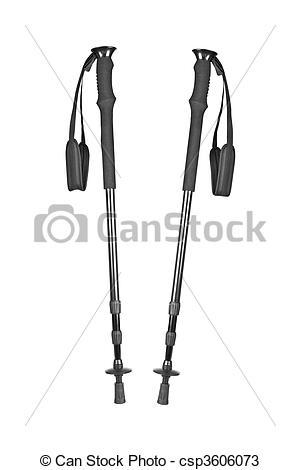 Stock Photos of Hiking poles.
