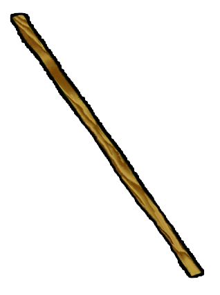 Hiking Stick Clipart.