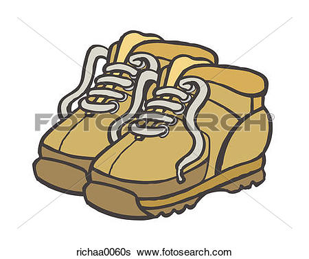 Stock Illustration of Hiking Boots richaa0060s.