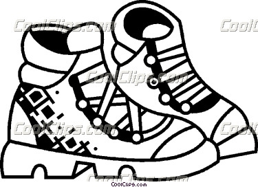 Clipart Hiking Boots.
