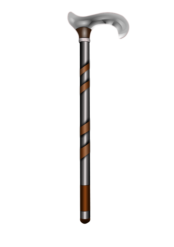 Free Clipart: Walking stick.