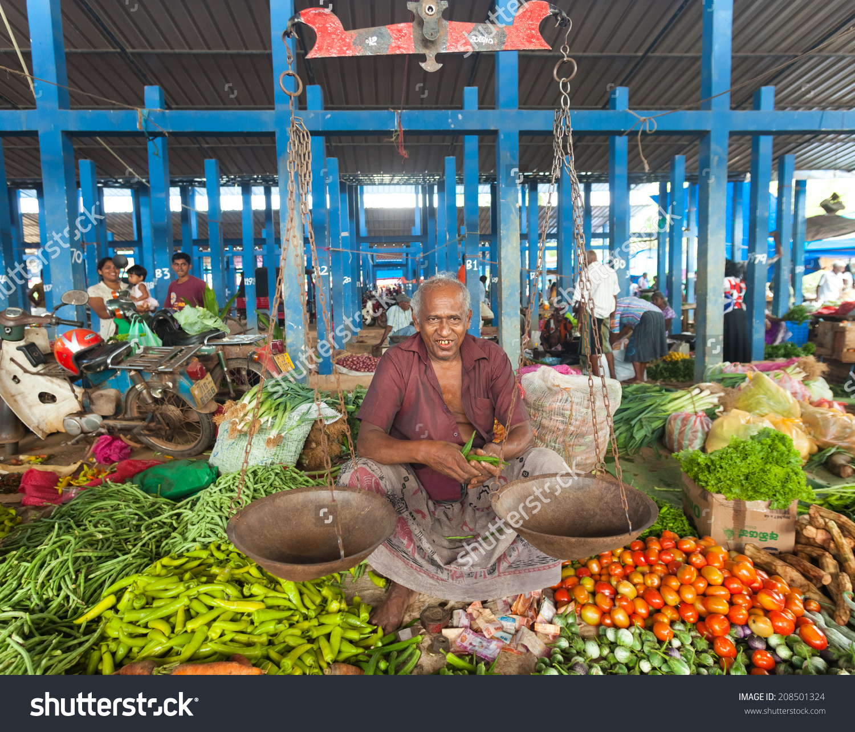 Hikkaduwa Sri Lanka February 23 2014 Stock Photo 208501324.