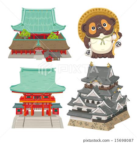 hikone castle, shiga, tourist attraction.