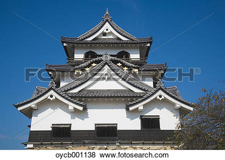 Pictures of Hikone castle, Shiga Prefecture oycb001138.