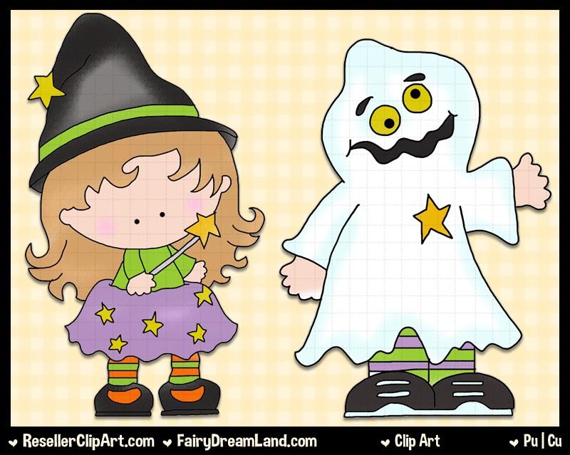 Witch Hilda Clip Art by Cheryl Seslar.