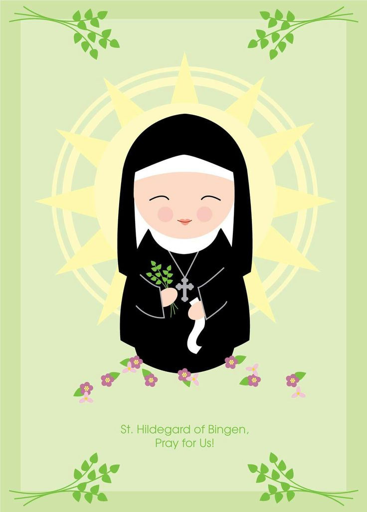1000+ images about St. Hildegard of Bingen OSB.