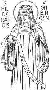 Saint Hildegard von Bingen (1098.
