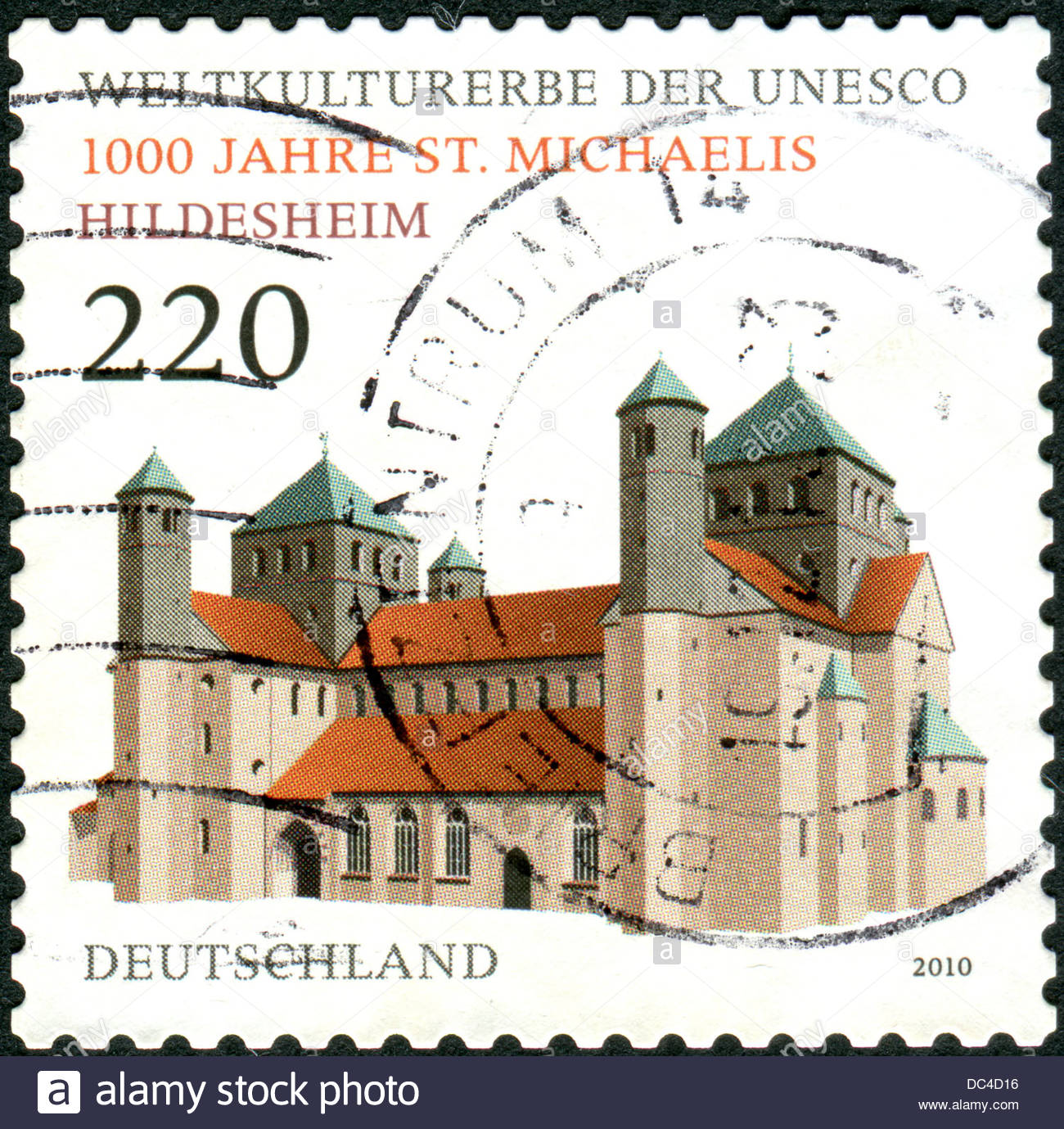 Postage Stamps Printed In Germany, Dedicated To The 1000th Stock.