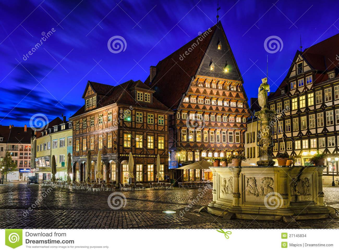 Hildesheim, Germany Royalty Free Stock Image.