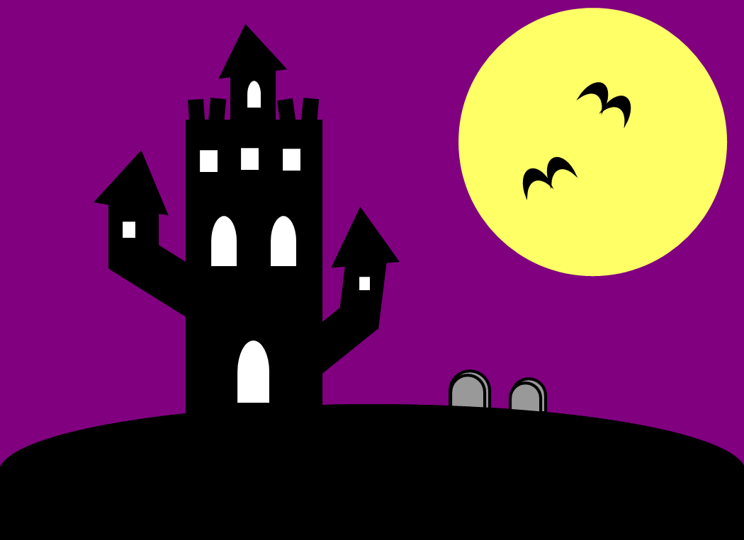 Hill castle clipart #16