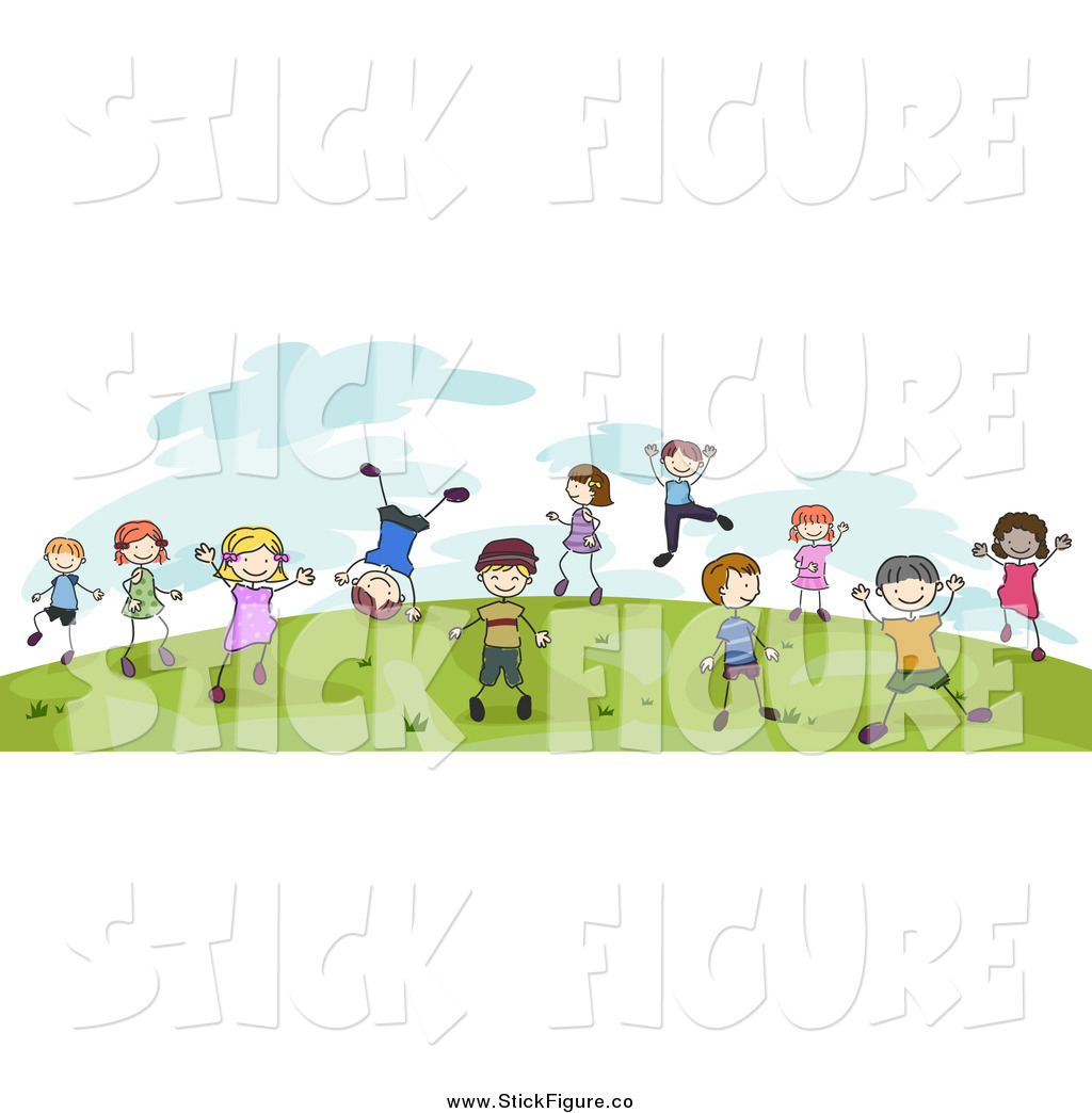 Royalty Free Cartoon People Stock Stick Figure Designs.