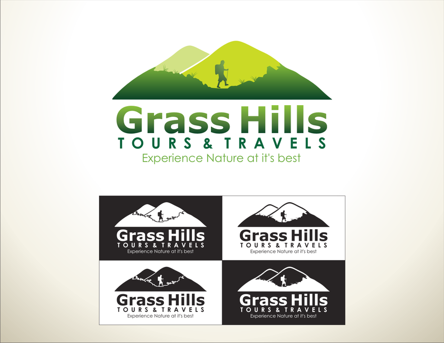 New Corporate Logo for Grass Hills Tours & Travels.