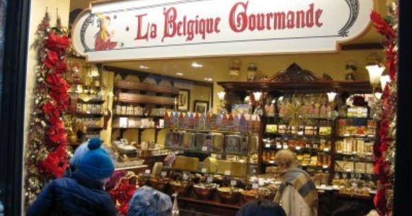 Viajar a Bélgica para comprar chocolates..