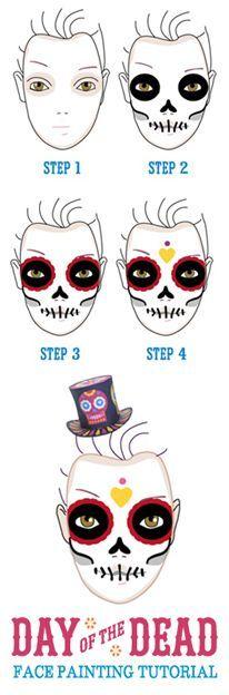1000+ ideas about Sugar Skull Face on Pinterest.