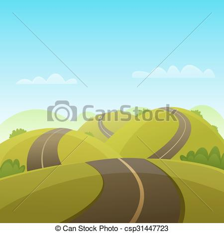 Hill road Clipart Vector and Illustration. 3,084 Hill road clip.