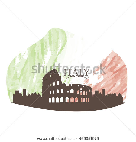 Rome Skyline Stock Images, Royalty.