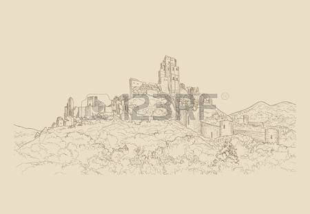 7,358 Famous Landscape Stock Vector Illustration And Royalty Free.
