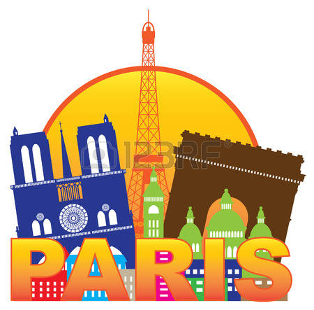 1,484 Paris Skyline Stock Illustrations, Cliparts And Royalty Free.