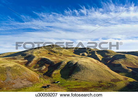 Picture of England, Northumberland, Lamb Hill. View of Lamb Hill.