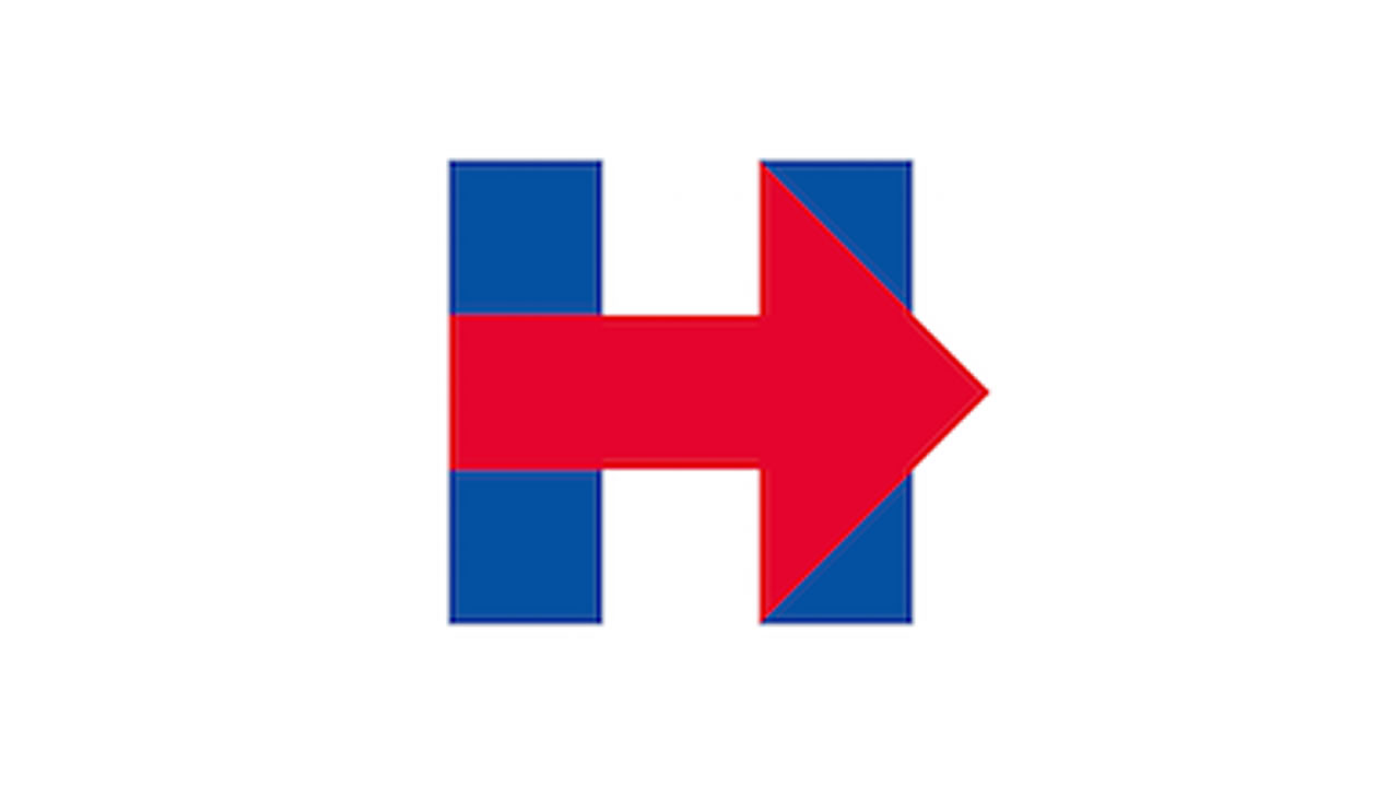 Logo for Clinton campaign 2016 sparks questions.