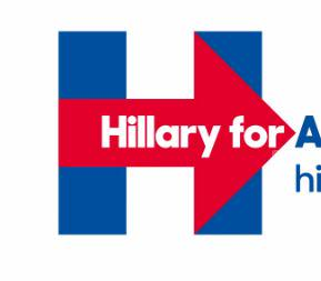 Tweeters turn Hillary Clinton campaign logo into bizarre 9.