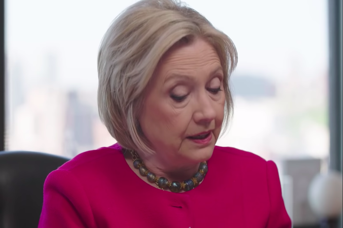 Hillary Clinton Does a Mueller Report Dramatic Reading for the Ages.
