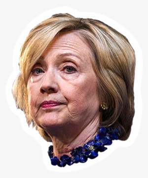 Hillary Clinton Head PNG Images.