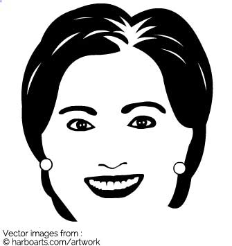 Download : Hillary Clinton simple.