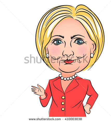 Hillary Clinton Stock Images, Royalty.