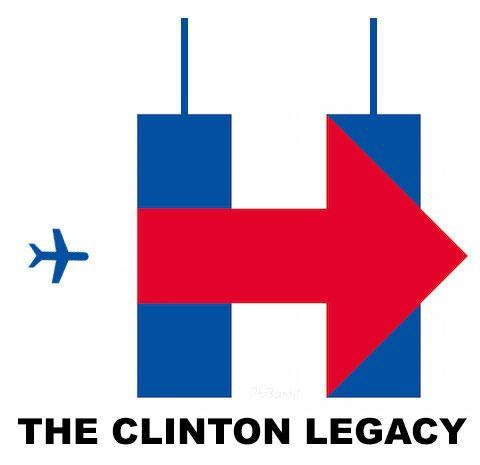 Tweeters turn Hillary Clinton campaign logo into bizarre 9.
