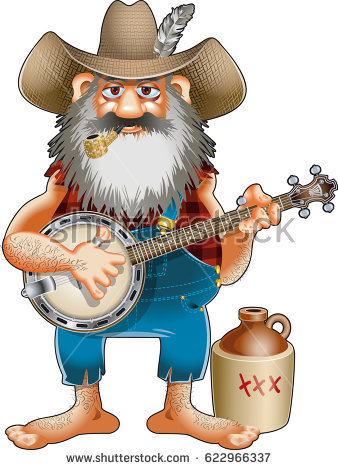 87 Hillbilly free clipart.